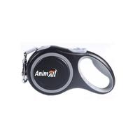 AnimАll (Энимал) рулетка поводок для собак до 50 кг, серый