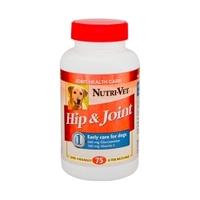Nutri-Vet СВЯЗКИ И СУСТАВЫ 1 уровень (Hip&Joint 1) глюкозамин для собак
