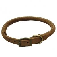 Coastal Circle-T круглий кожаный ошейник для собак