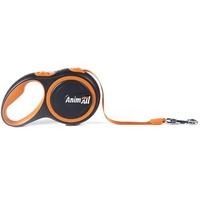 AnimАll (Энимал) рулетка поводок для собак до 15 кг, оранжевый