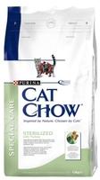 Cat Chow Special Care Sterilized для кастрированных кошек