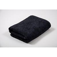 A477 Полотенце черное 50*85см шерсть 100%