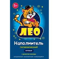 """Гигиенич. наполнитель """"LEO"""" №1  крупный с ароматом лаванды"""