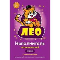 """Гигиенич. наполнитель """"LEO"""" №2 средний с ароматом лаванды"""