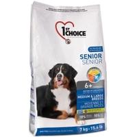 1st Choice (Фест Чойс) сухой супер премиум корм для пожилых или малоактивных собак средних и крупных пород
