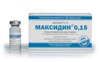 Максидин 0,15 глазные капли