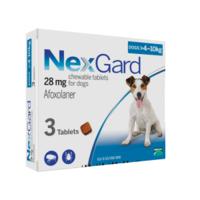 НЕКСГАРД 4-10кг (M) таблетка от блох и клещей