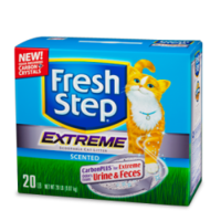 Fresh Step Extreme комкующийся наполнитель