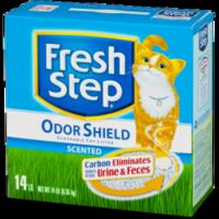 Fresh Step Odor Shield unscented комкующийся наполнитель без ароматизатора