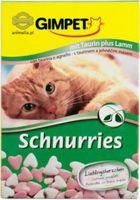 Gimpet (Джимпет) Schnurries - витаминные «сердечки» с таурином со вкусом ягненка
