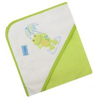 Полотенце с капюшоном Baby Mix Жабка Зеленый (Z-CY-16)