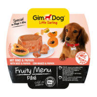 GimDog LD k 100g Fruity Menu паштет с говядиной и папайей
