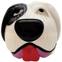 """Petstages Black&White Dog Ball Игрушка-пищалка для средних и крупных пород собак """"Белый Бим Черное Ухо"""""""