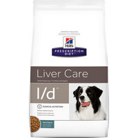 HILL'S (ХИЛС) PRESCRIPTION DIET CANINE L/D - ЛЕЧЕБНЫЙ КОРМ ДЛЯ СОБАК, ЗАБОЛЕВАНИЯ ПЕЧЕНИ