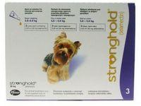 Стронгхолд (Stronghold) 12% маленькие собаки (2,6-5,0 кг) пипетка 30 мг (0,25 мл)