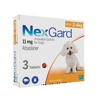 НЕКСГАРД 2-4кг (S) таблетка от блох и клещей