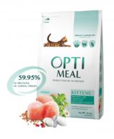 Сухий корм для кошенят – курка від Optimeal