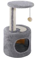 PA 4010 Когтеточка для кошек с игрушкой и домиком