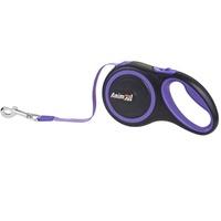 AnimАll (Энимал) рулетка поводок для собак до 25 кг, фиолетовый