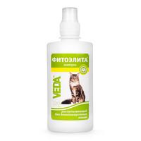 Фитоэлита шампунь распутывающий для длинношерстных кошек, 220 мл, Веда