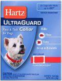 Ultra Guard Flea&Tick Collar for Dogs, red 51см-ошейник Хартц красный от блох и клещей