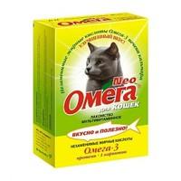 ОМЕГА для Котов 90 таб Протеином и L-Карнетином