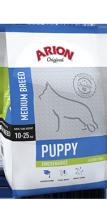 ARION ORIGINAL Puppy Medium Chicken&Rice для щенков средних пород