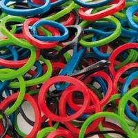 Набор резинок Artero для собак (200шт в упак.)-Разноцветные-арт.H467