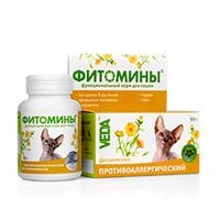 Veda Фитомины Против аллергии кошек