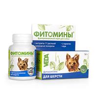 Veda Фитомины для шерсти собак