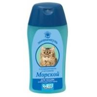 Шампунь `МОРСКОЙ` для кошек длинношерстных пород с кондиционером и хитозаном