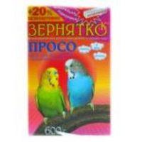 """Корм для попугаев ТМ """"Зернятко"""" Просо 600г"""