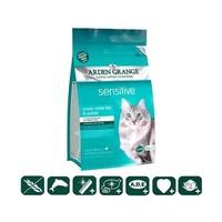 Arden Grange Adult  Sensitive Cat Корм для кошек с деликатным желудком и/или чувствительной кожей с океанической рыбой и картофелем беззерновой