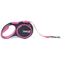 AnimАll (Энимал) рулетка поводок для собак до 50 кг, розовый