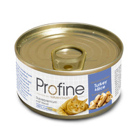 Profine Cat Turkey & Rice (индейка и рис)