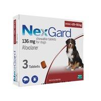 НЕКСГАРД 25-50кг (XL) таблетка от блох и клещей