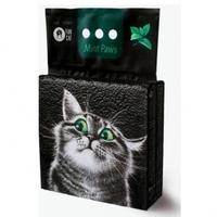 FUN CAT Mint Paws Древесный наполнитель для кошачьего туалета 5л