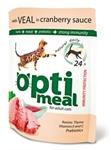 OptiMeal Veal Cranberry sauce - с телятиной в клюквенном соусе 85г