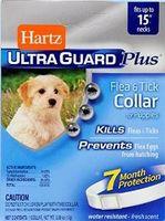 Ultra Guard Plus  FLEA & TICK COLLAR for Puppies ошейник для щенков от блох, яиц блох и клещей 38 см