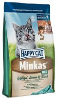 Happy Cat Мінкас Мікс, 10кг 3 вида корма Хэппи Кэт
