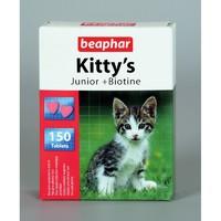 Киттис юниор 150 табл - лакомство для котят Беафар / Beaphar