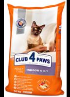 Клуб 4 Лапы Premium Indoor 4in1 Сухой корм для кошек живущих в помешении