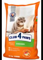 Клуб 4 Лапы Premium Adult Chicken Сухой корм для взрослых кошек с курицей