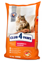 Клуб 4 Лапы Premium Hairball Control Сухой корм для кошек вывод шерсти