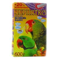 Корм для попугаев ТМ 'Зернятко' Большие попугаи 600г