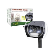 Универсальный отпугиватель животных LS-987 New с ИК-датчиком и световым стробом