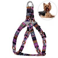 Шлея для Собак Мелких Пород BronzeDog Urban Этническая Фиолетовая