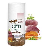 OptiMeal (Оптиміл) Беззерновий сухий корм для котів качка та овочі