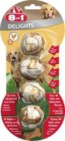 Шарики для собак с мясом 8in1S 4 шт