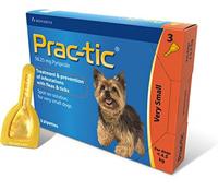 Novartis Prac-tic (Прак-тик) для собак 2 - 4,5 кг